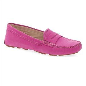 Sam Edelman Pink Filly Moc Toe loafer